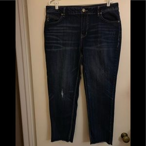 Maurices Crop Jeans - Size 14